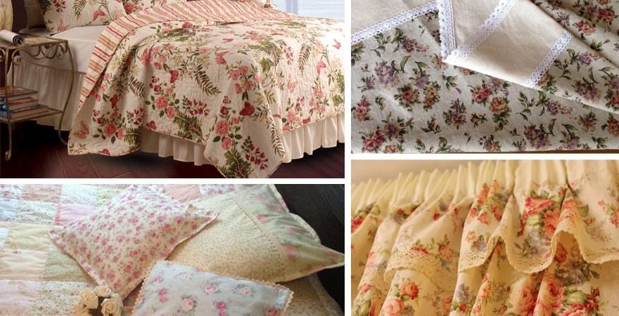 Яркое постельное белье в интерьере спальни