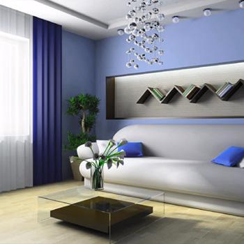 Заказать ремонт залы и гостиной в Москве и области