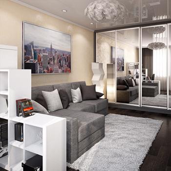 Ремонт 1-комнатной квартиры в Москве
