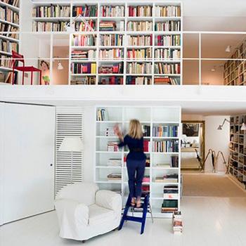 Ремонт библиотеки под ключ в доме или квартире