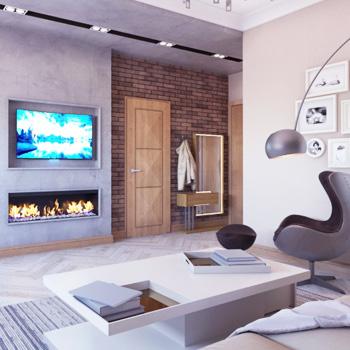Ремонт комнаты отдыха в Москве и Подмосковье
