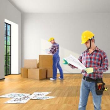 Капитальный ремонт двухкомнатной квартиры под ключ.