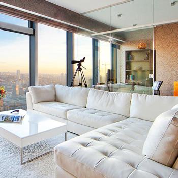 Косметический ремонт четырехкомнатной квартиры в Москве