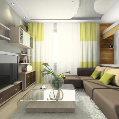 Косметический ремонт 4-комнатной квартиры