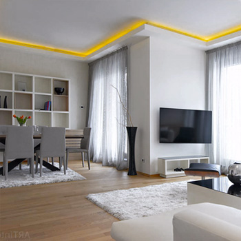 Капитальный ремонт четырехкомнатной квартиры под ключ