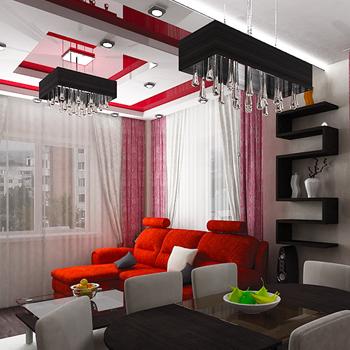 Косметический ремонт апартаментов
