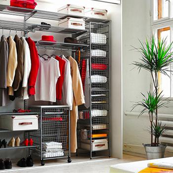 Косметический ремонт гардеробной