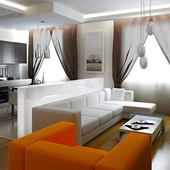 Косметический ремонт зала, гостиной