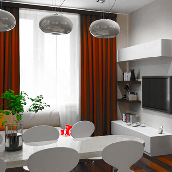 Элитный ремонт двухкомнатной квартиры