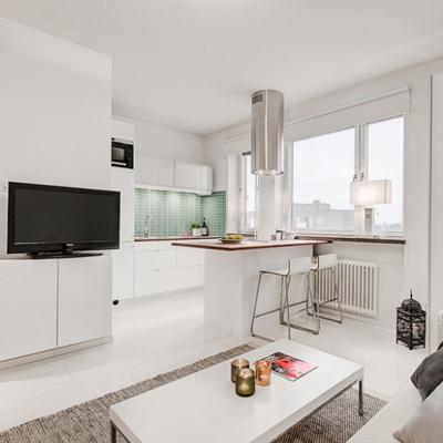 Ремонт кухни, совмещенной с гостиной