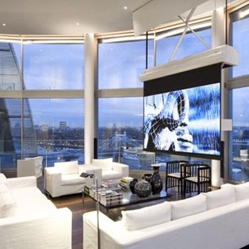 Дизайнерский ремонт квартиры-пентхауса в новостройке