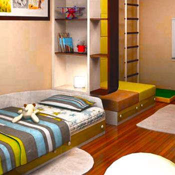 Капитальный ремонт детской комнаты для мальчика