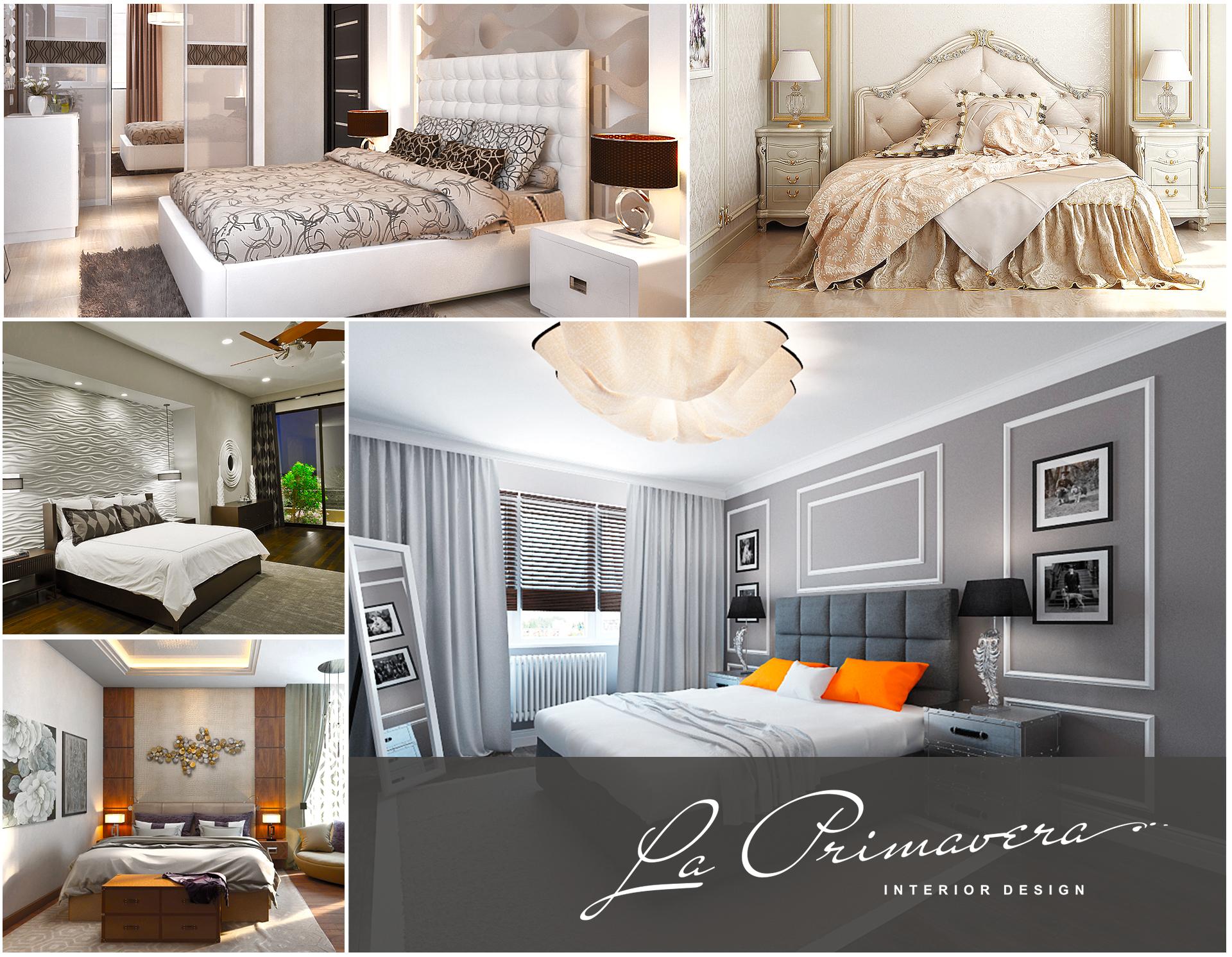 Косметический ремонт спальни в Москве
