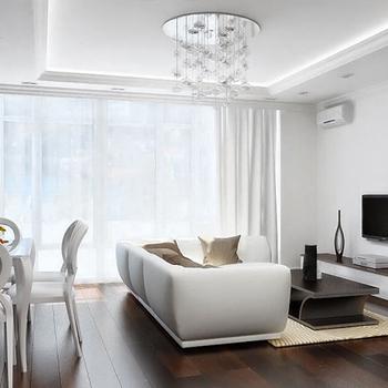 Элитный ремонт однокомнатной квартиры под ключ в новостройке