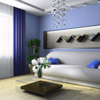 Элитный ремонт гостиных в домах и квартирах Москвы