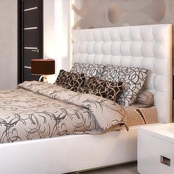 Элитный ремонт спальни с материалами