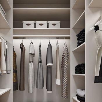 Элитный ремонт гардеробной комнаты