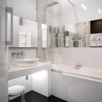 Элитный ремонт ванной, туалета, совмещенного санузла