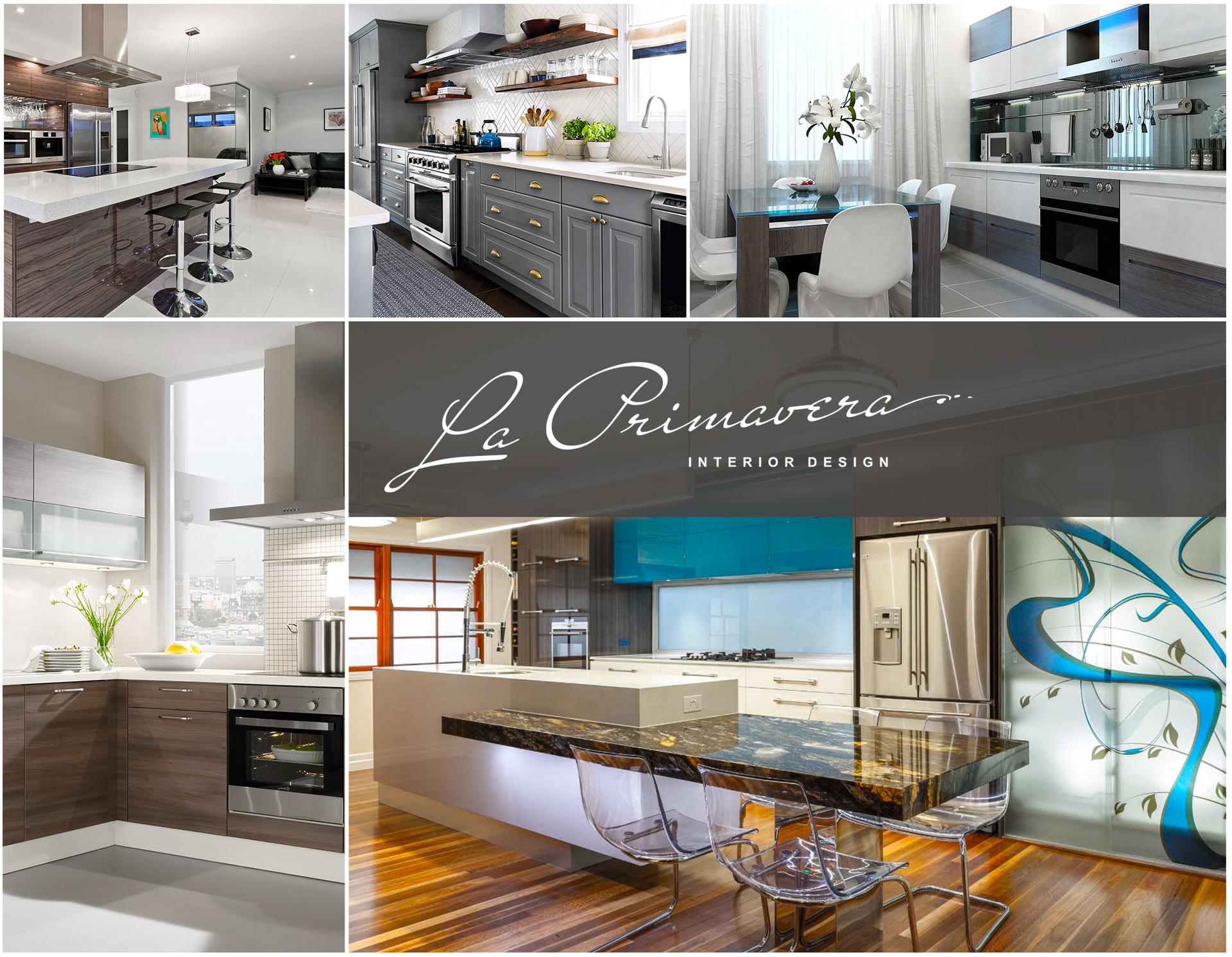 Элитный ремонт и дизайн кухни-гостиной с зонированием