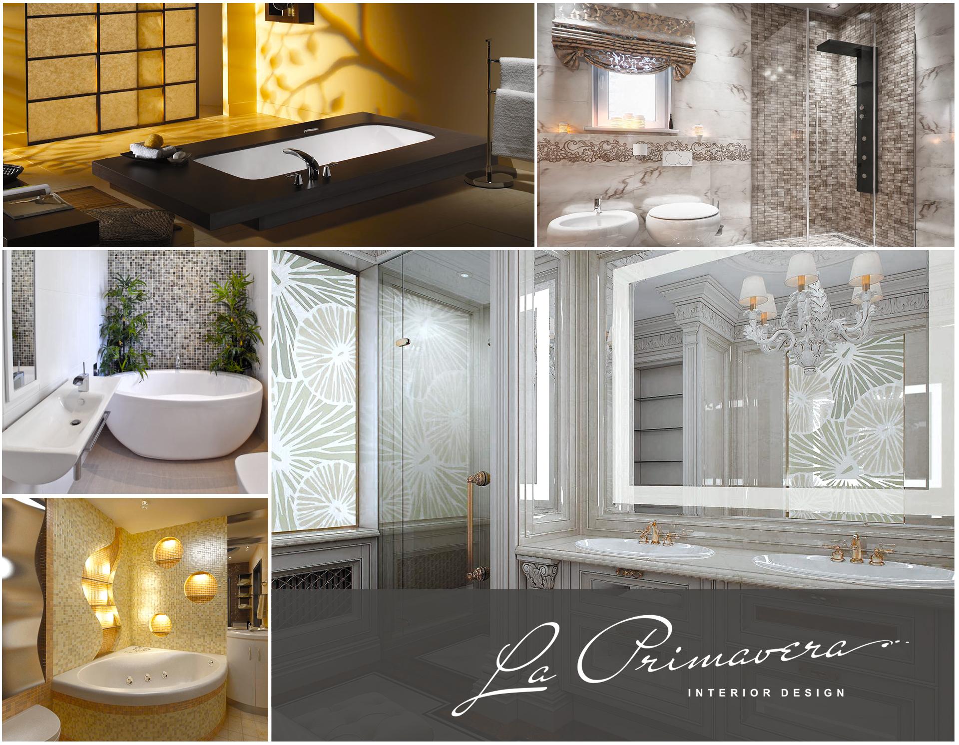 Элитный ремонт ванной комнаты: фото