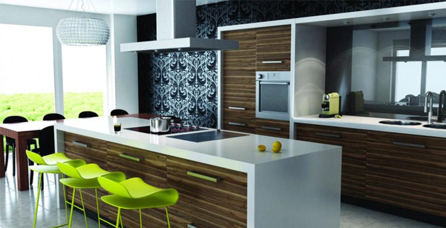 Дизайн кухни в современном стиле (контемпорари)