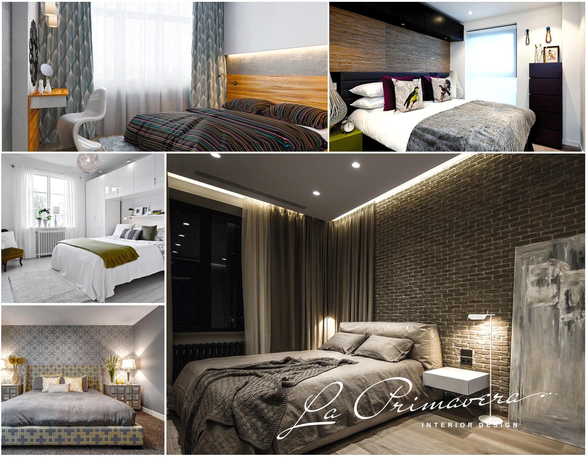 Дизайн интеррьера спальни