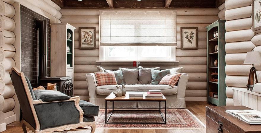 Дизайн интерьера квартиры в стиле кантри
