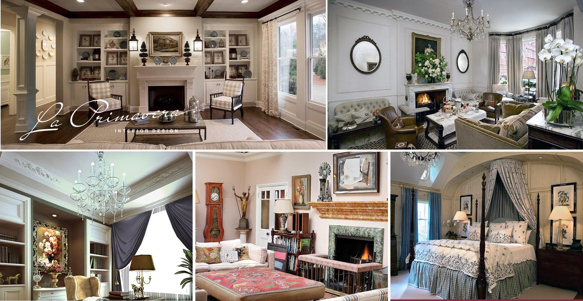 Дизайн интерьера дома в английском стиле