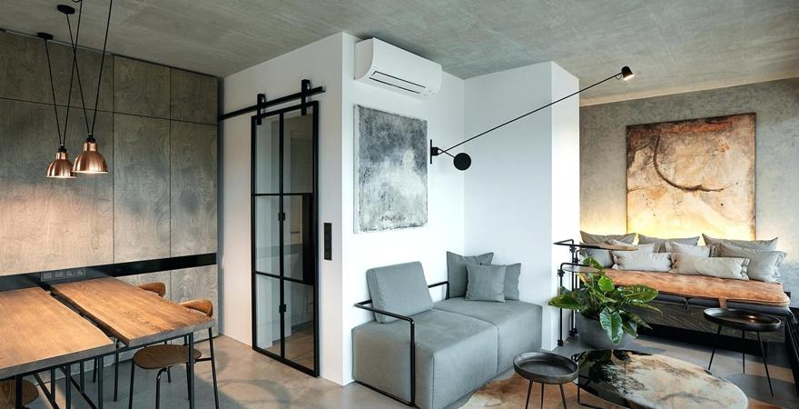 Ремонт апартаментов в стиле лофт