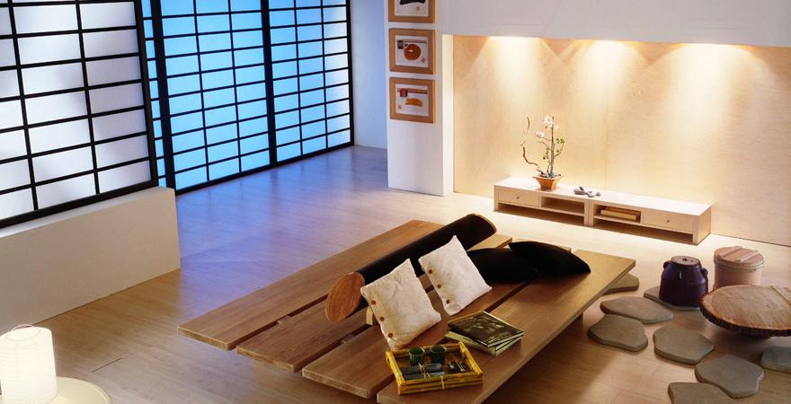 Японский стиль в интерьере апартаментов