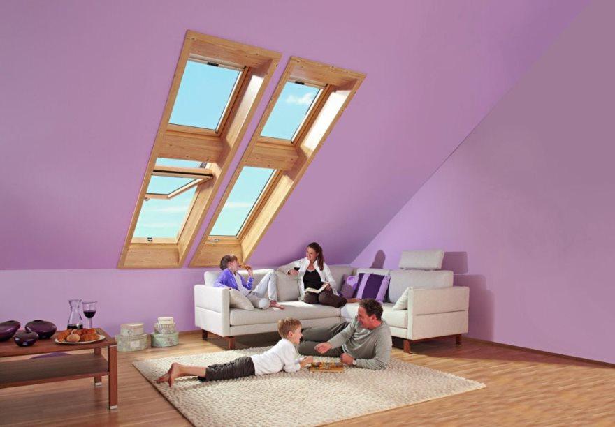 Мансардные окна с надставками