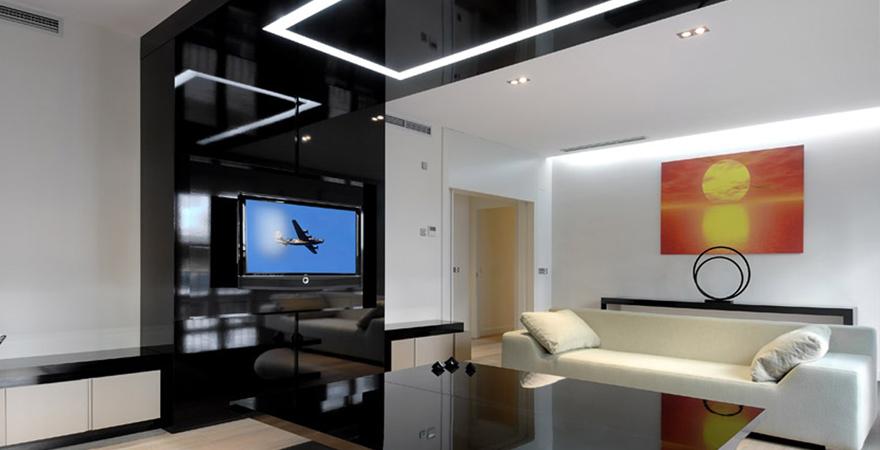 Хай-тек в интерьере апартаментов