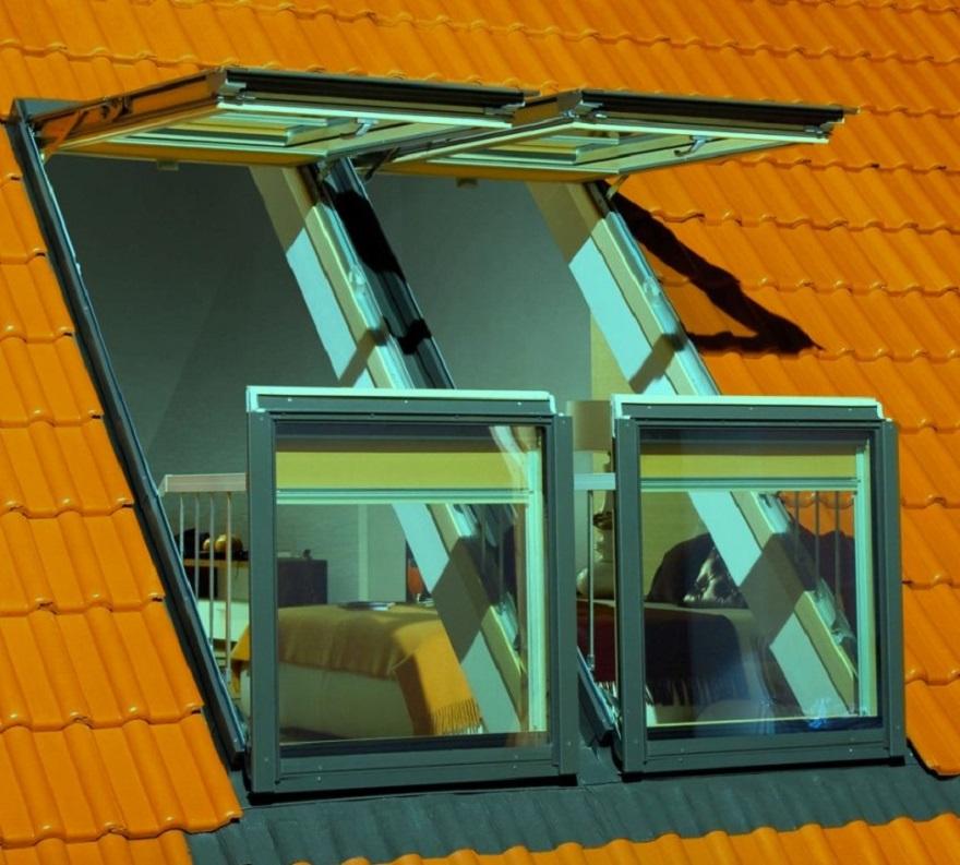Окна-балконы