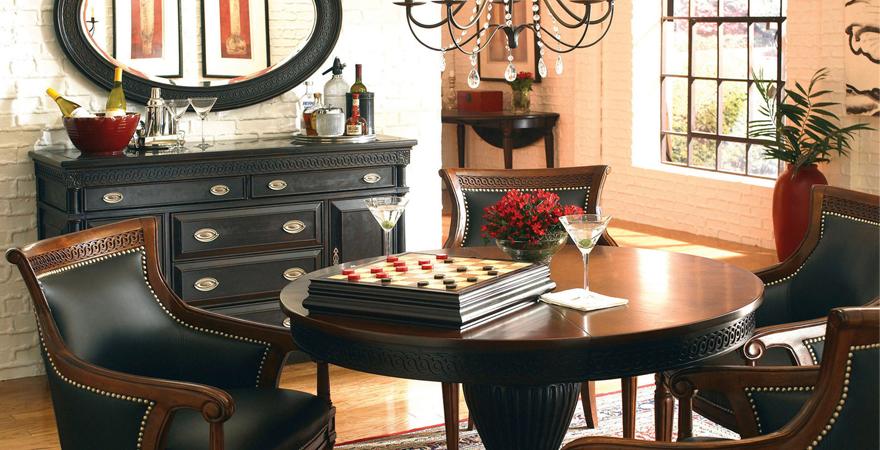 Интерьер с использованием антикварной мебели