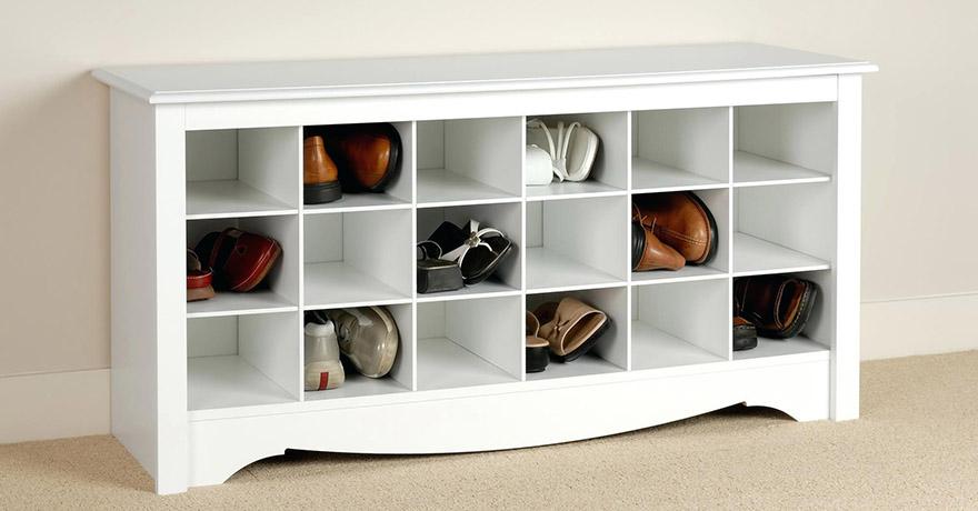 Обувницы в гардеробной