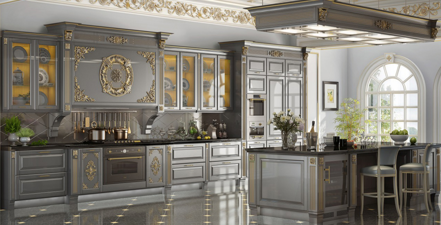 Элитный ремонт кухни