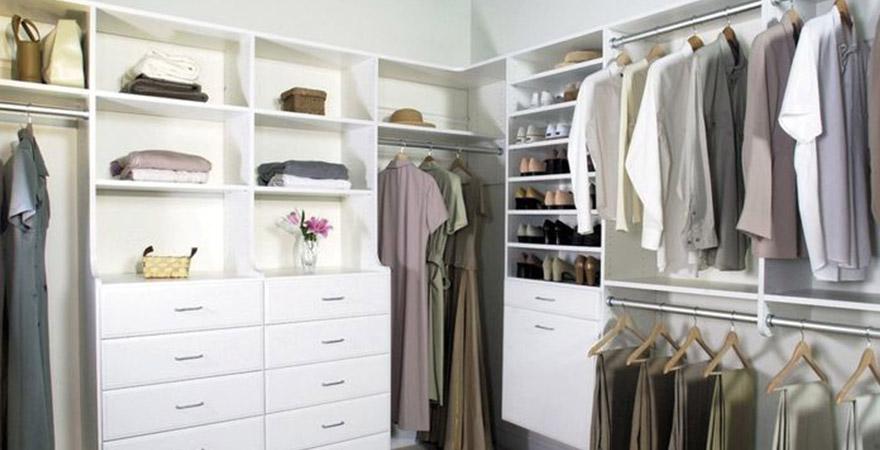 Дизайн гардеробной в скандинавском стиле