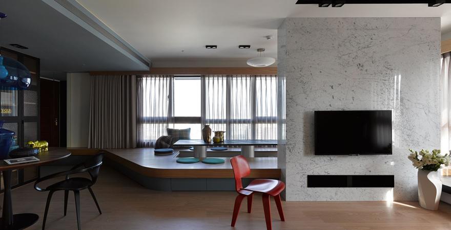 Подиум в квартире-студии