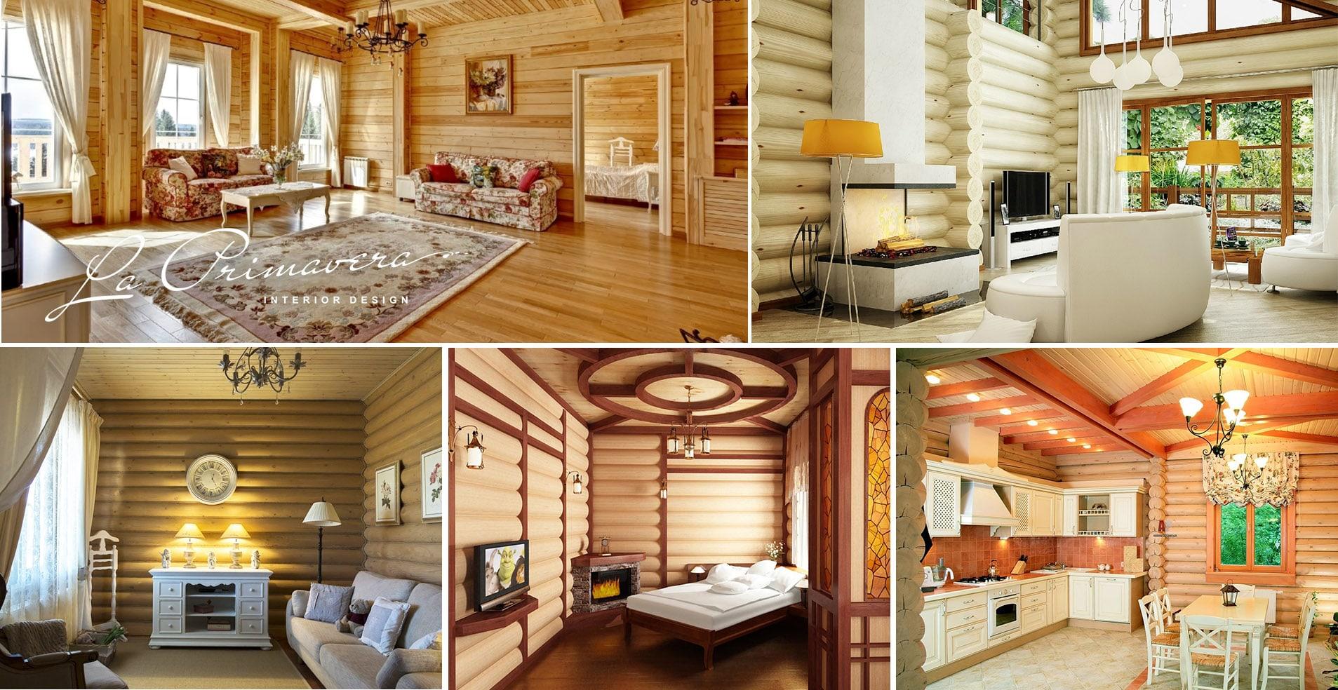 Дизайн интерьера дома в русском стиле