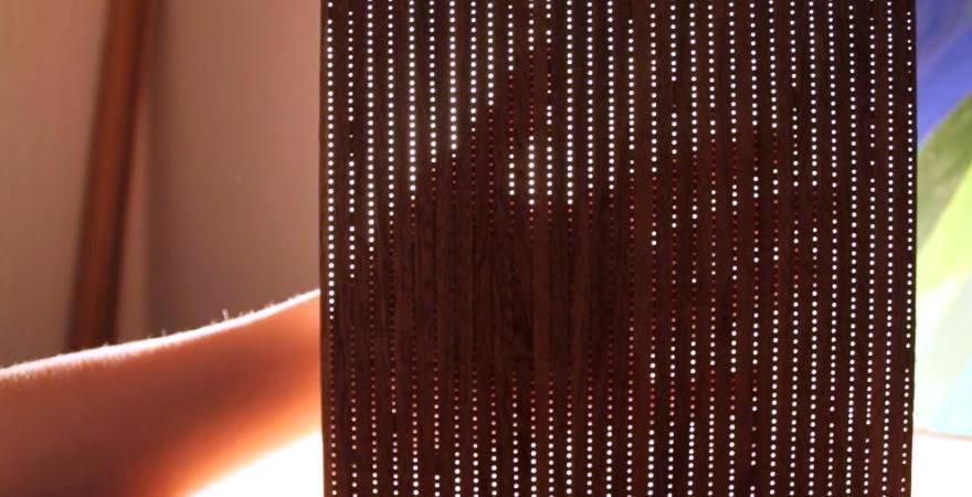Древесный светопропускающий композит