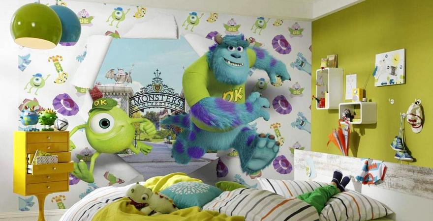 3D-фотообои в детской комнате