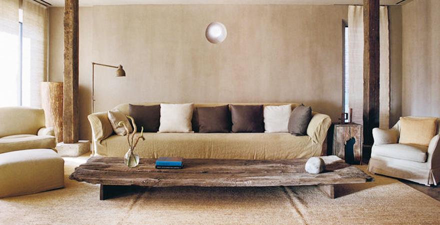 Мебель wabi-sabi в современном дизайне дома