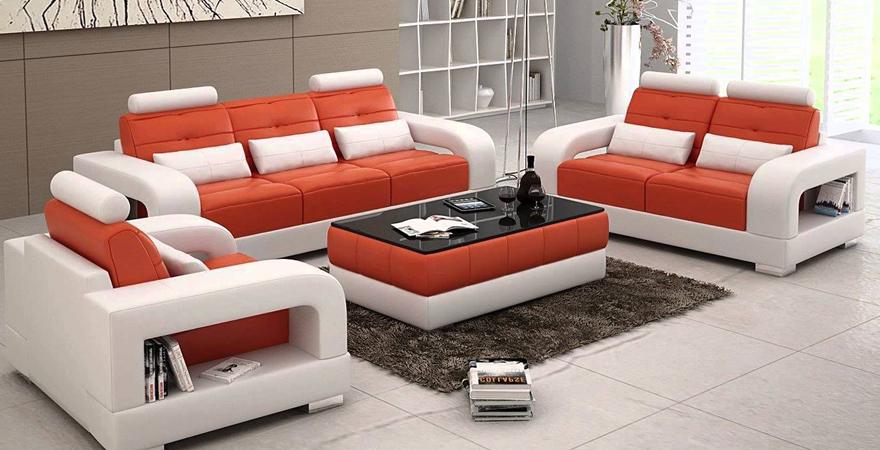 Необычная модульная мягкая мебель