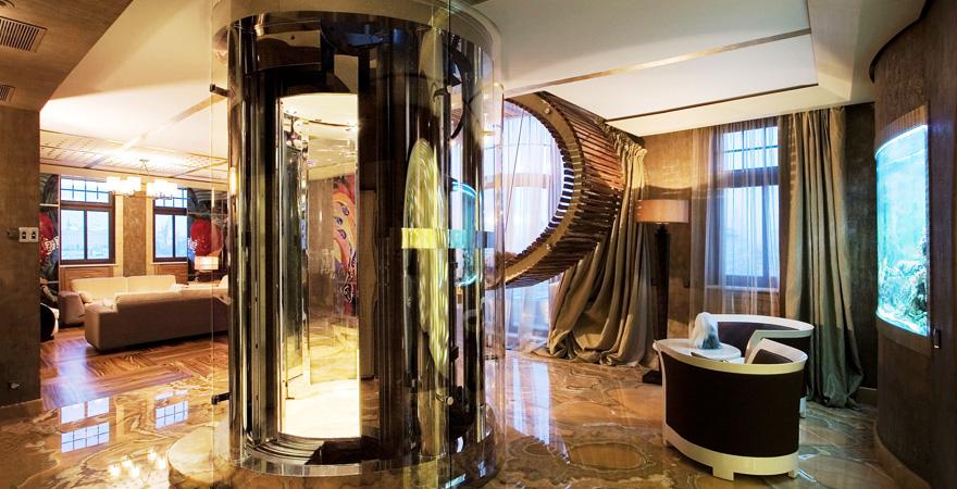Лифт в пентхаус