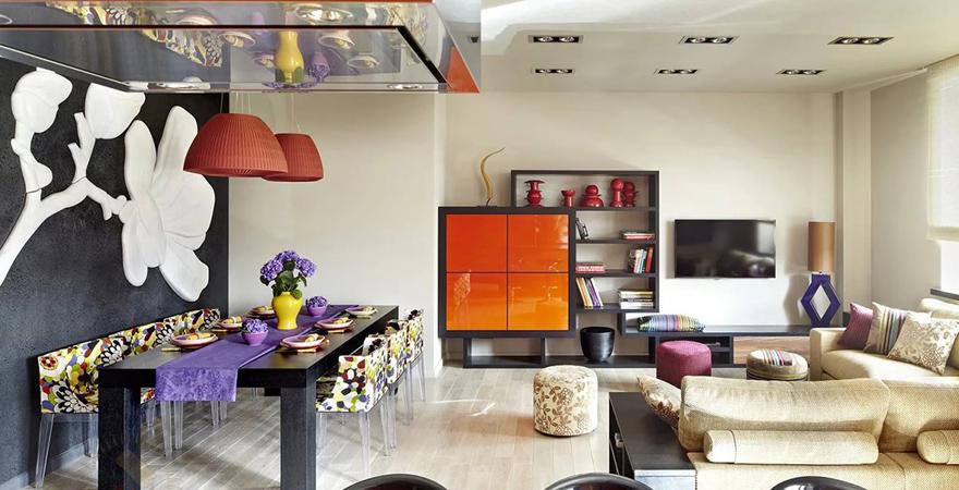 3 способа смешения стилей в дизайне интерьера квартиры
