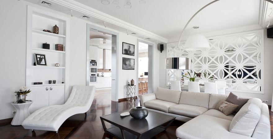 Интерьер гостиной в стиле арт-деко-3