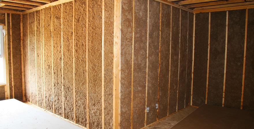Утепление стен дома изнутри