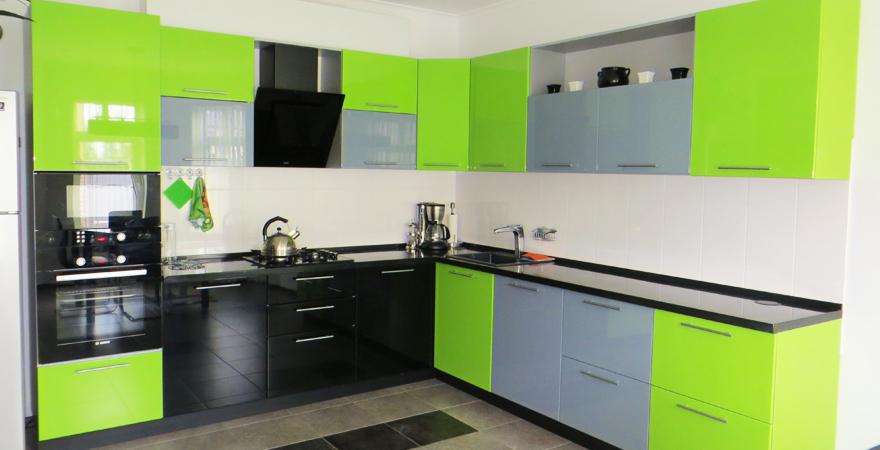 Ламинированный кухонный гарнитур