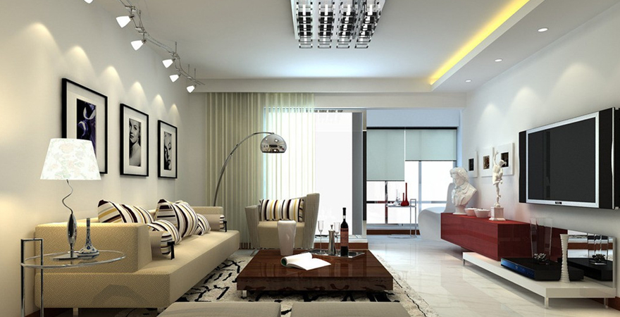 Освещение в квартире в стиле минимализм