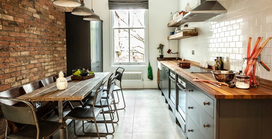 Кухня в стиле лофт-2